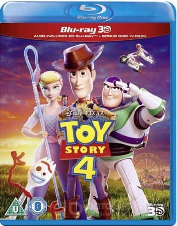 Toy Story 4 3D SBS 2019