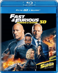 Fast and Furious Presents Hobbs and Shaw 3D SBS 2019