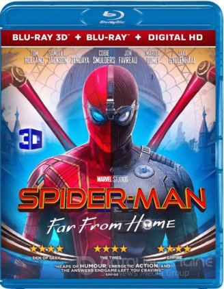 Spider Man Far from Home 3D SBS 2019