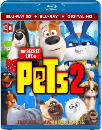 The Secret Life of Pets 2 3D SBS 2019