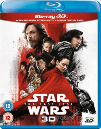 Star Wars The Last Jedi 3D SBS 2017
