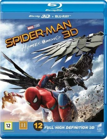 Spider-Man: Homecoming 3D SBS 2017
