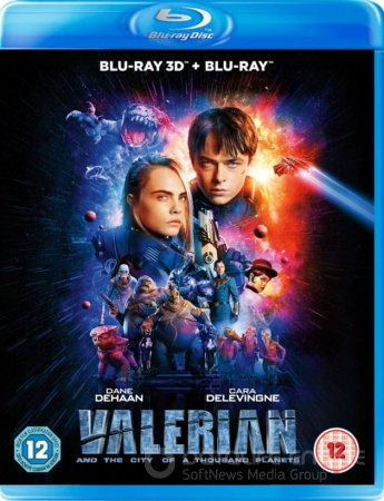 Valerian and the City of a Thousand Planets 3D SBS 2017