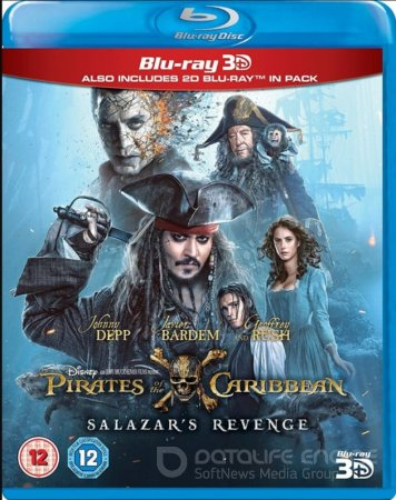 Pirates of the Caribbean: Dead Men Tell No Tales 3D SBS 2017