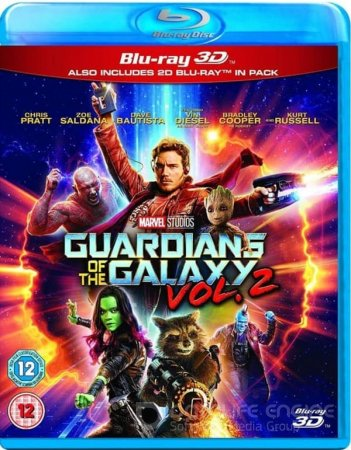 Guardians of the Galaxy Vol. 2 3D SBS 2017