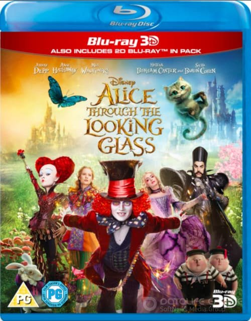 Alice Through the Looking Glass 3D SBS 2016