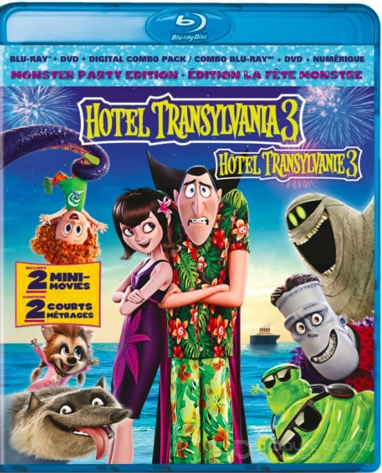 Hotel Transylvania 3: Summer Vacation 3D SBS 2018