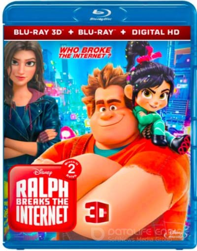 Ralph Breaks the Internet 3D SBS 2018