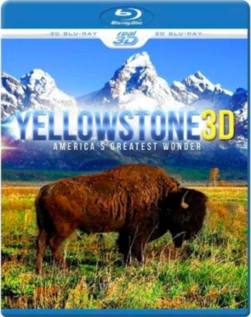 World Natural Heritage USA: Yellowstone National Park 3D SBS 2012