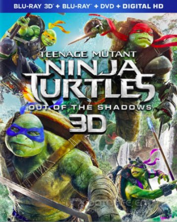Teenage Mutant Ninja Turtles 3D SBS 2014