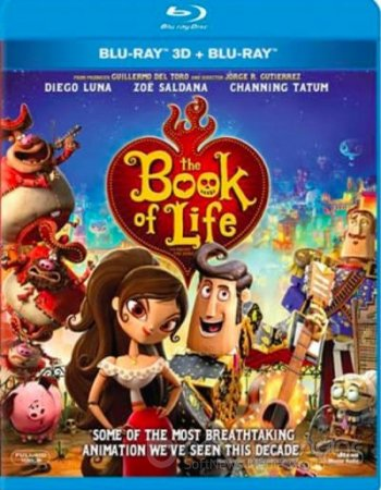 The Book of Life 3D SBS 2014