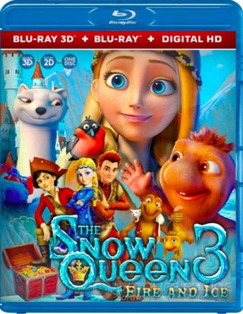 The Snow Queen 3: Fire and Ice 3D SBS 2016