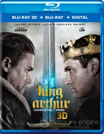 King Arthur: Legend of the Sword 3D SBS 2017