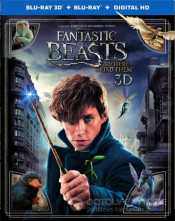 Fantastic Beasts and Where to Find Them 3D SBS 2016