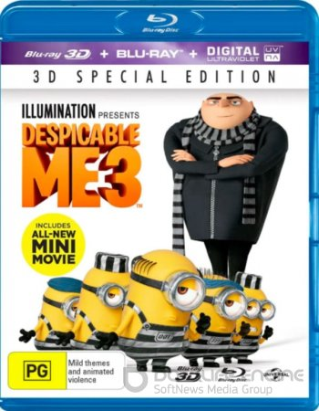 Despicable Me 3 3D SBS 2017