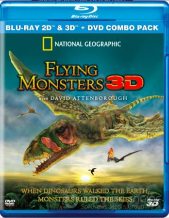 Flying Monsters 3D SBS 2011