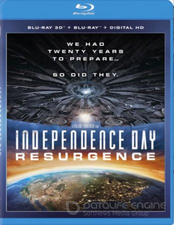 Independence Day: Resurgence 3D SBS 2016