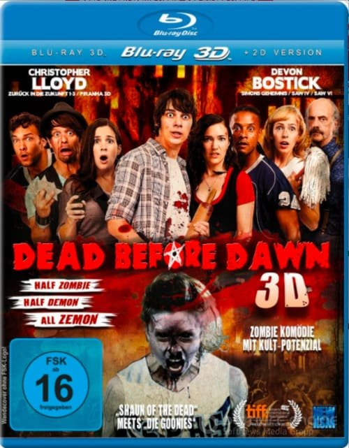 Dead Before Dawn 3D SBS 2012