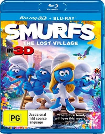 Smurfs: The Lost Village 3D SBS 2017