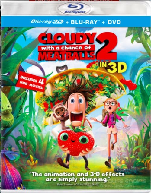 Cloudy with a Chance of Meatballs 2 3D SBS 2013
