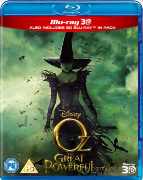 Oz the Great and Powerful 3D SBS 2013