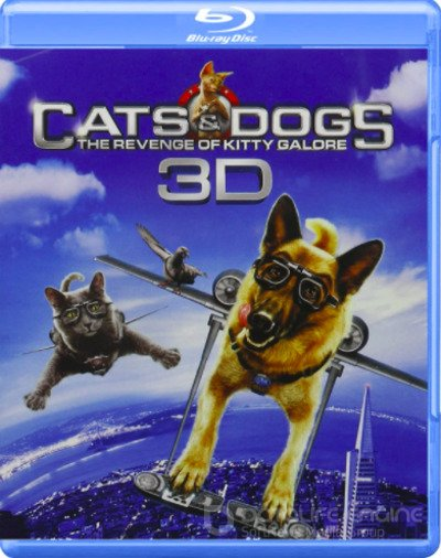 Cats & Dogs: The Revenge of Kitty Galore 3D SBS 2010