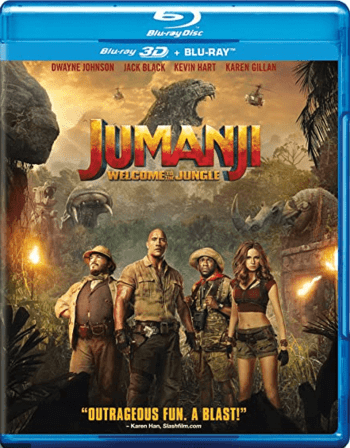Jumanji: Welcome to the Jungle 3D SBS 2017