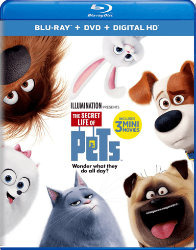 The Secret Life of Pets 3D SBS 2016