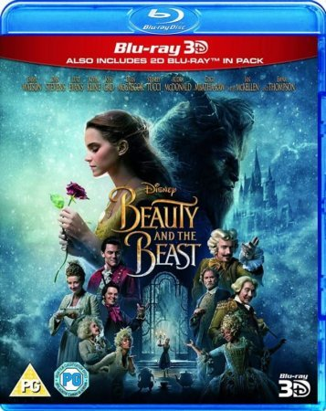 Beauty and the Beast 3D SBS 2017