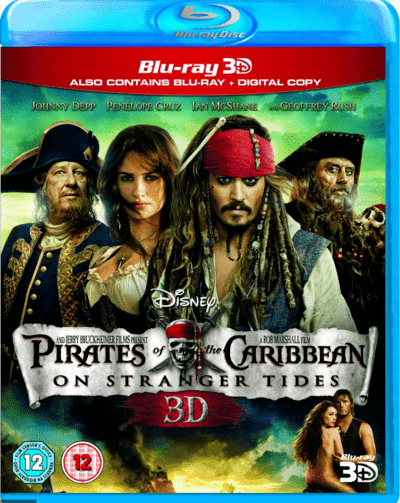 Pirates of the Caribbean: On Stranger Tides 3D SBS 2011