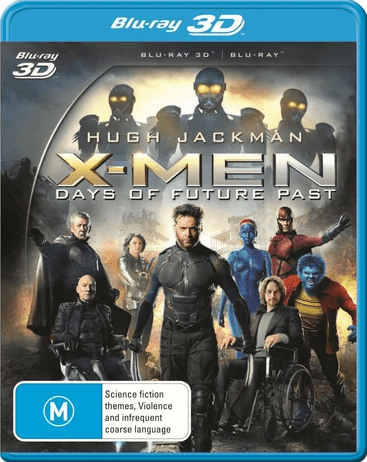 X-Men: Days of Future Past 3D SBS 2014
