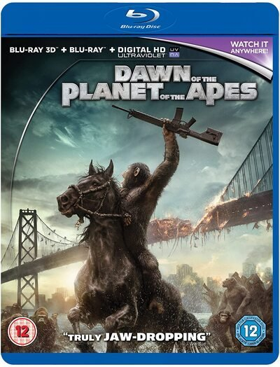 Dawn of the Planet of the Apes 3D SBS 2014