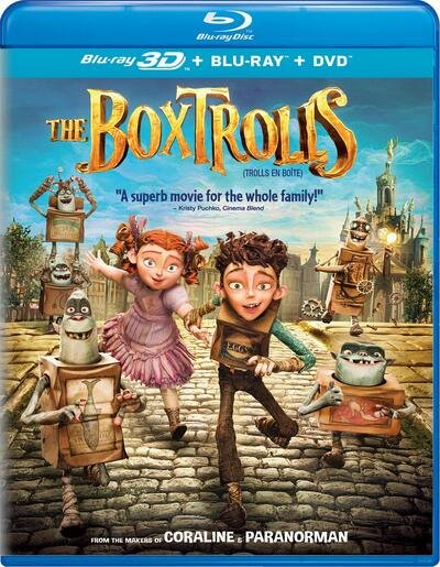 The Boxtrolls 3D SBS 2014