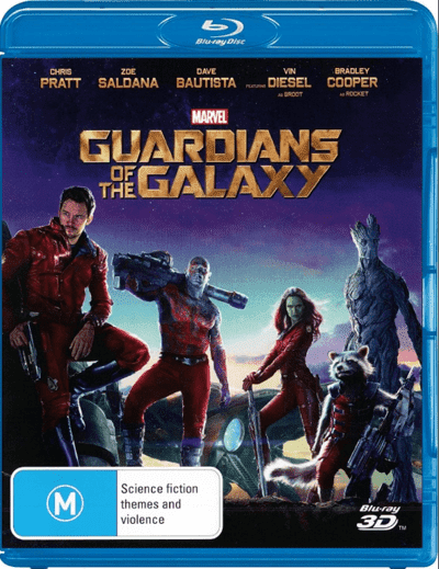 Guardians of the Galaxy 3D SBS 2014