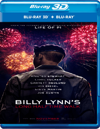 Billy Lynn's Long Halftime Walk 3D SBS 2016